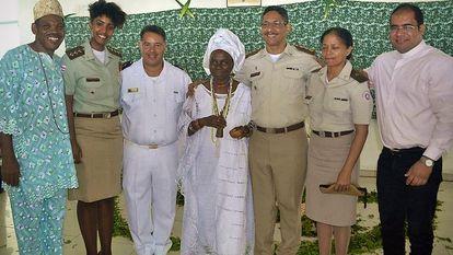 Encontro do Nafro com representantes de religiões de matrizes africanas.