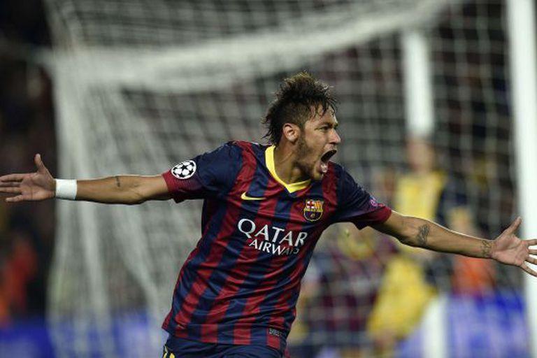 Neymar, o último grande contrato do Barcelona.