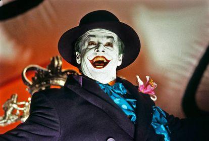 Jack Nicholson, irônico e hiperteatralizado. O melhor.