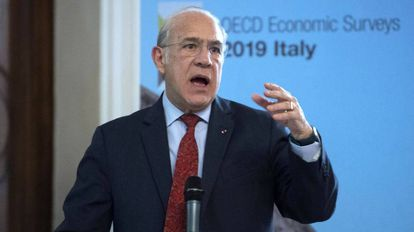 O secretário-geral da OCDE, o mexicano Ángel Gurría.