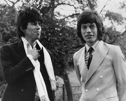 Não há relação mais marcada pelo amor e ódio que a de Mick Jagger e Keith Richards. Claro, eles trabalham juntos há mais de 50 anos. Aqui, são vistos na Inglaterra, em 1967.
