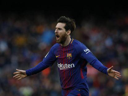 Barcelona enfrentou o Atlético de Madri na 27 ª jornada da Liga.
