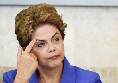 A presidenta Dilma Rousseff nesta terça.