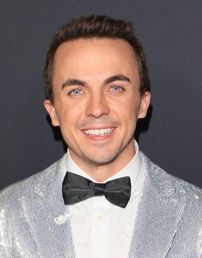 O ator do final de  'Dancing with the stars', em 2017.