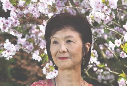 A escritora Naoko Abe numa foto sem data.