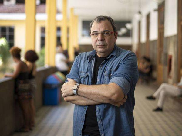 O historiador Carlos Fico, fotografado no Instituto de Filosofia e Ciências Sociais da UFRJ.