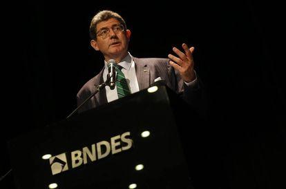 Joaquim Levy, ao tomar posse no BNDES em janeiro deste ano.