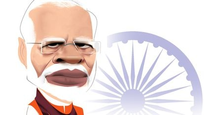 Narendra Modi, por Luis Grañena