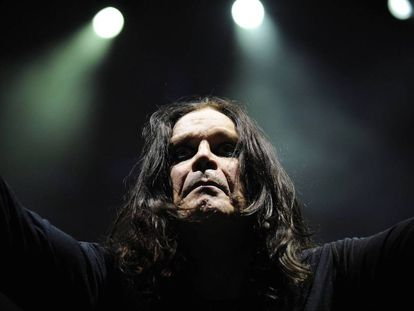 Ozzy Osbourne em um concerto de 2008 em Sidney, Austrália.