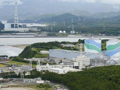 A planta de Sendai, da companhia Kyusu Electric Power, em 2013.