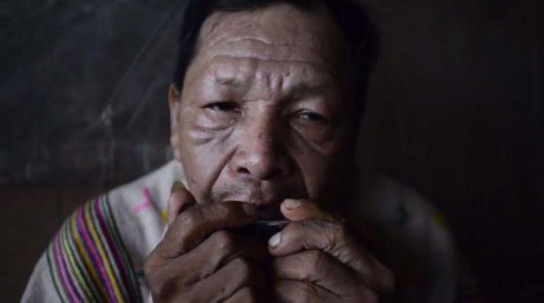 Miguel Ochavano, xamã de Paoyhan (Peru).