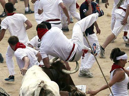 Segundo dia da corrida de touros da Festa de São Firmino 2015