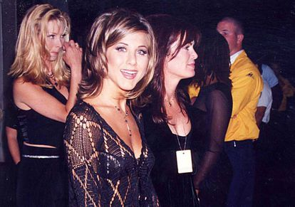 Jennifer Aniston em 1995, um ano depois de estreiar em 'Friends'