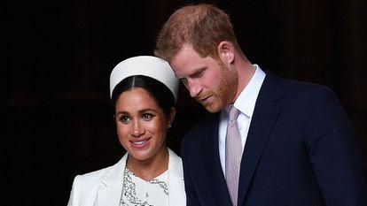 Harry da Inglaterra e Meghan Markle, em 11 de março de 2019 em Londres.