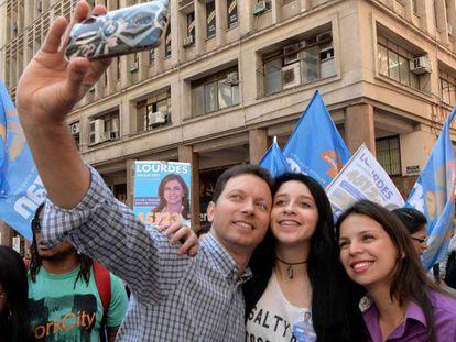 O candidato tucano em Porto Alegre, Nelson Marchezzan Júnior.