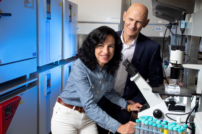Os pesquisadores Concepción Rodríguez e Juan Carlos Izpisúa, do Instituto Salk Institute.
