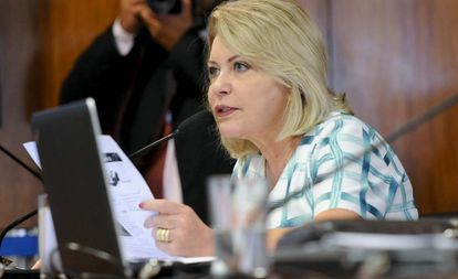 A relatora da PEC 29/2015 na CCJ do Senado, Juíza Selma (PSL-MT)