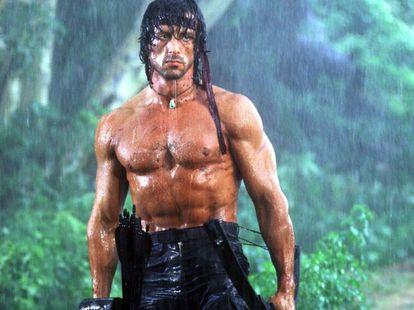 Stallone como John Rambo.