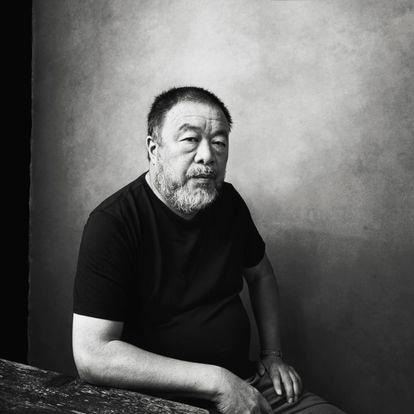 O artista chinês Ai Weiwei.