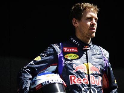 Vettel, no circuito de Melbourne.