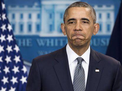 Obama, em 5 de maio, durante uma cerimônia na Casa Branca.