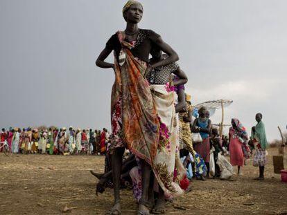 Na África oriental, 1,1 milhões de pessoas se deslocaram.
