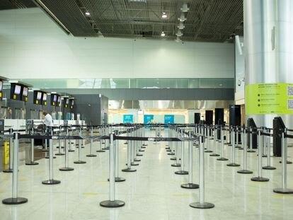 Terminal 3 do aeroporto de Guarulhos, onde estão concentrados os voos para destinos internacionais.
