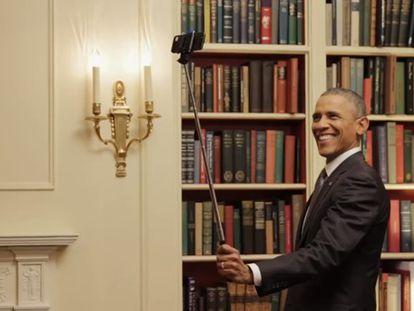 O vídeo promocional do presidente Obama.