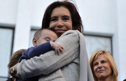 Cristina Kirchner no último dia 9.