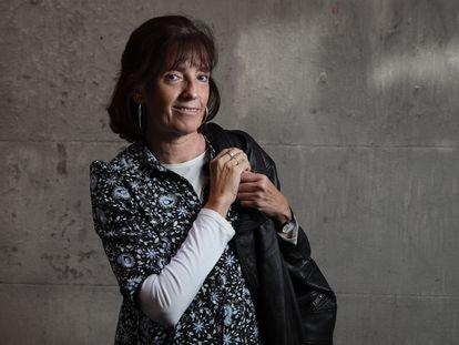 A historiadora María Tausiet nesta quarta-feira em Madri.