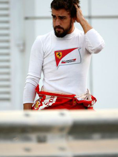 Fernando Alonso, em Abu Dabi.