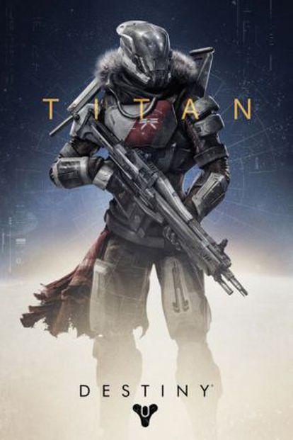 Uma das classes que o jogador pode escolher em 'Destiny' para ser o seu guia.