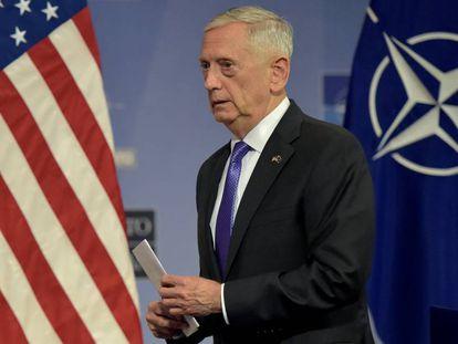 O ex-secretário de Defesa, Jim Mattis, em junho.