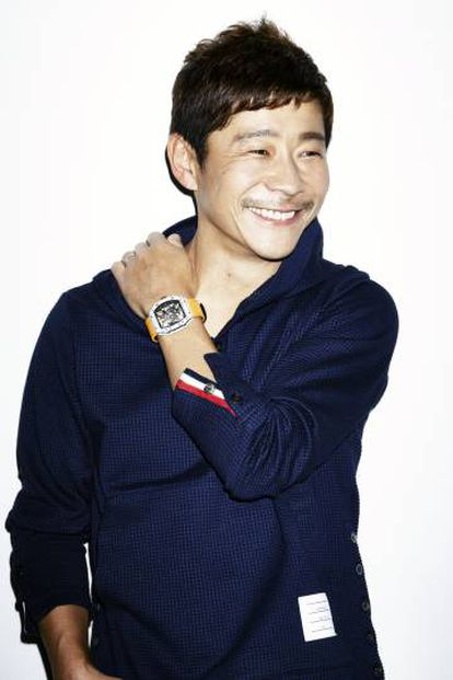 O colecionador japonês Yusaku Maezawa.