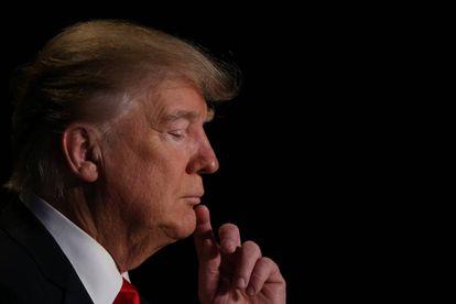Donald Trump, no Café da Manhã Nacional de Orações, em Washington.