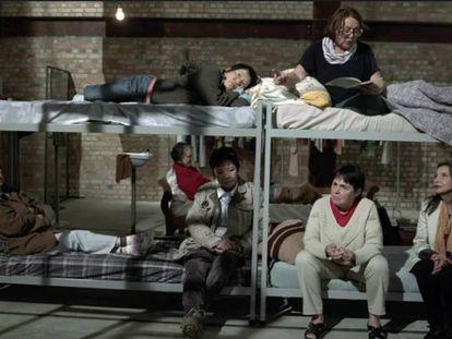 Imagem do documentário 'Torre das donzelas'.