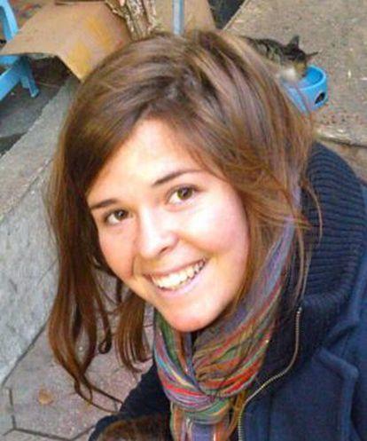 A voluntária norte-americana Kayla Mueller.