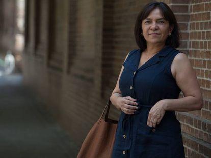 Sandra Araujo deixou a Venezuela no final de 2014. Agora, trocou Miami pelo bairro de Salamanca, em Madri