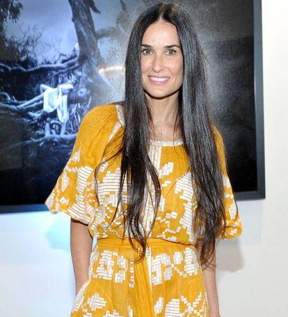 """Com Demi Moore (54 anos), surgiu o chamado """"efeito Kutcher""""."""