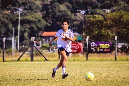 Joane Ribeiro, jogadora de futebol.