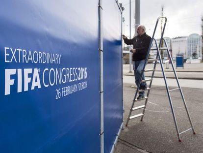 Congresso da FIFA acontece em Zurique.