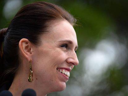 A primeira-ministra de Nova Zelândia, Jacinda Ardern, em uma coletiva de imprensa na passada sexta-feira em Sidney.