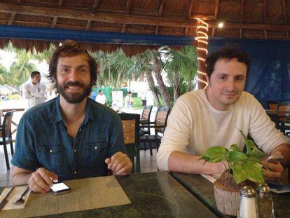 Luis Delgado e José Antonio Fernández.