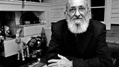 O educador Paulo Freire (1921-1997), em imagem publicada pelo Centro Cultural São Paulo.