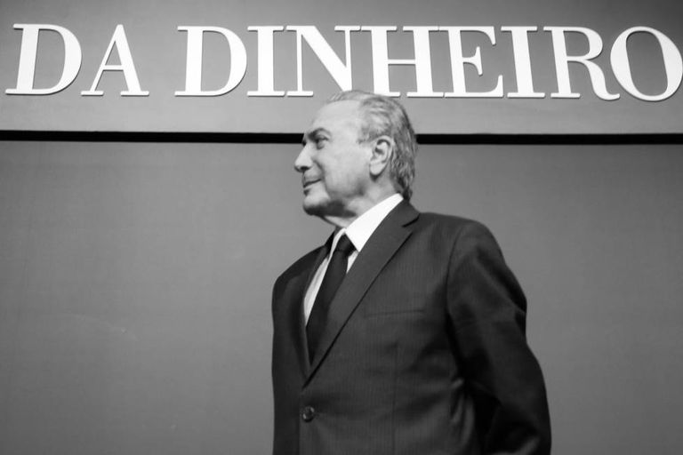 O vice-presidente Michel Temer, em uma imagem de arquivo.