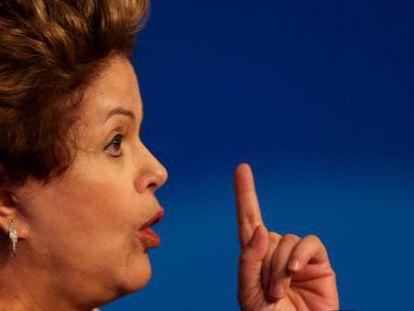 A ex-presidente Dilma Rousseff, em uma imagem de arquivo.