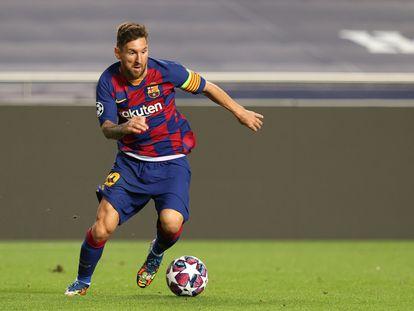 Messi comunica que deseja deixar o Barcelona