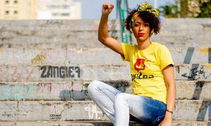 Com 99,92% das urnas apuradas, Erika Hilton foi a mulher mais votada em São Paulo, com 50.447 votos. Ela ficou em 6º lugar.