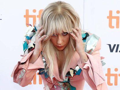 Lady Gaga, no tapete vermelho do Festival de Toronto
