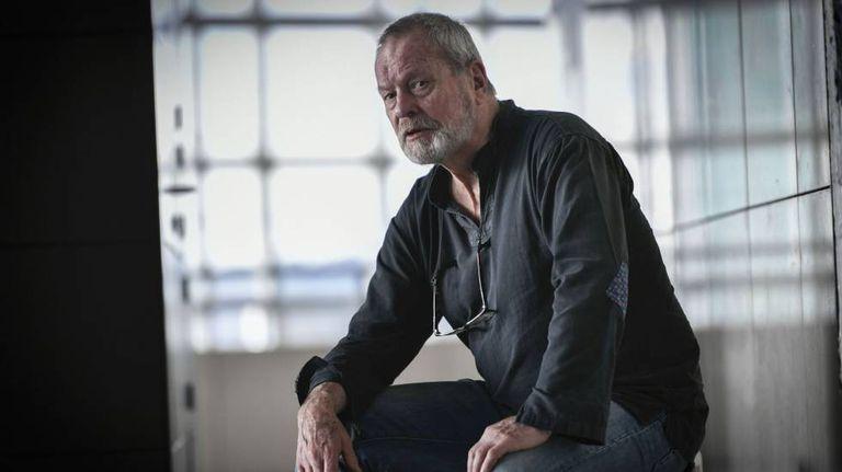 Terry Gilliam em Paris, em março deste ano